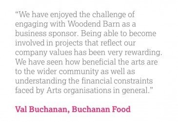 2015 Entrepreneurship Award Winner - Buchanan Food & Woodend Barn